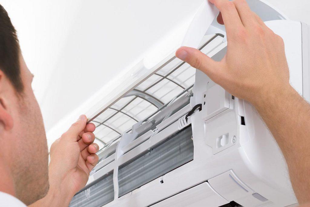 Prevención COVID aire acondicionado